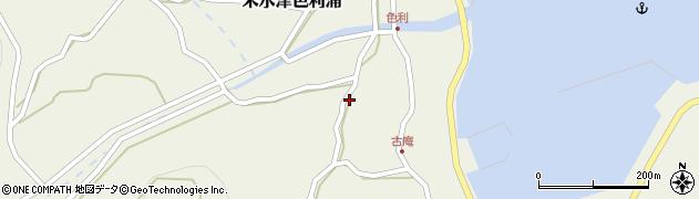 大分県佐伯市米水津大字色利浦1238周辺の地図