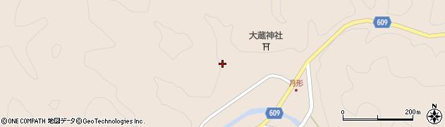 大分県佐伯市直川大字横川659周辺の地図