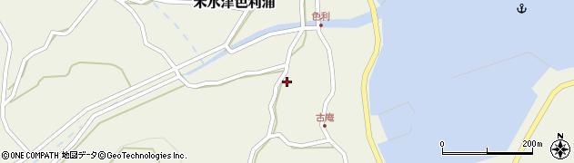 大分県佐伯市米水津大字色利浦1243周辺の地図