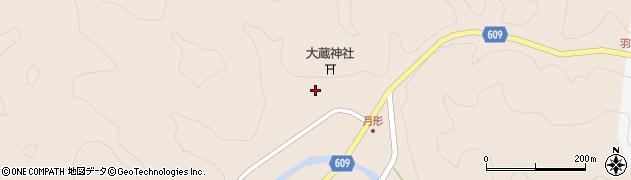 大分県佐伯市直川大字横川554周辺の地図