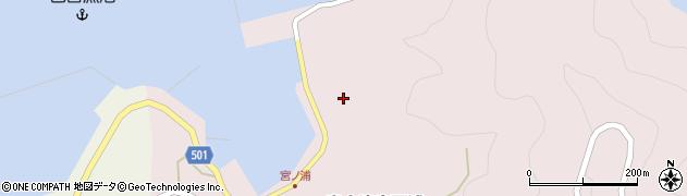 大分県佐伯市米水津大字宮野浦659周辺の地図
