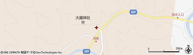 大分県佐伯市直川大字横川571周辺の地図