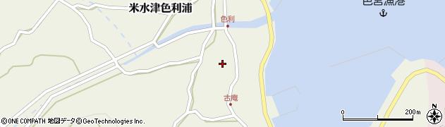 大分県佐伯市米水津大字色利浦1294周辺の地図