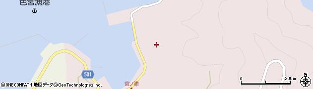 大分県佐伯市米水津大字宮野浦657周辺の地図