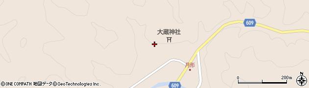 大分県佐伯市直川大字横川549周辺の地図