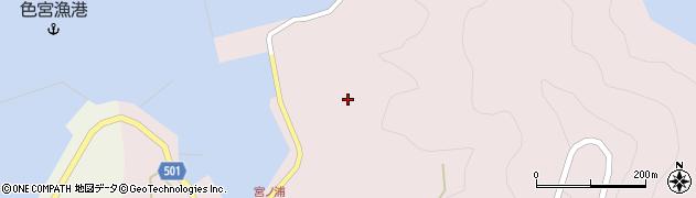 大分県佐伯市米水津大字宮野浦152周辺の地図