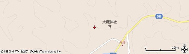 大分県佐伯市直川大字横川542周辺の地図