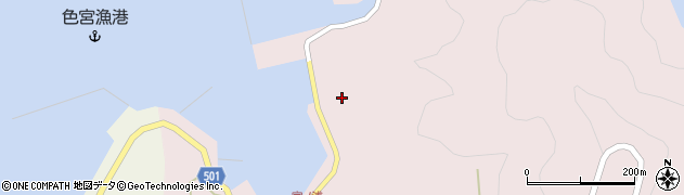 大分県佐伯市米水津大字宮野浦655周辺の地図