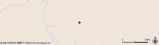 大分県佐伯市直川大字横川1349周辺の地図