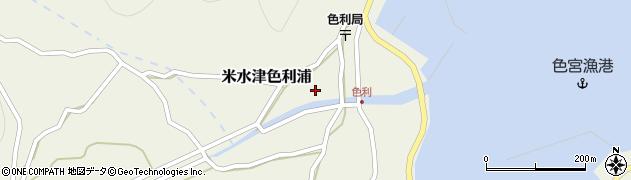 大分県佐伯市米水津大字色利浦427周辺の地図