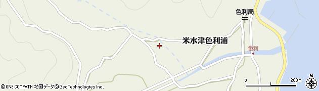 大分県佐伯市米水津大字色利浦783周辺の地図