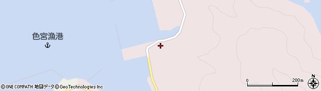 大分県佐伯市米水津大字宮野浦726周辺の地図