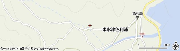 大分県佐伯市米水津大字色利浦502周辺の地図