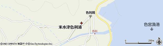 大分県佐伯市米水津大字色利浦397周辺の地図