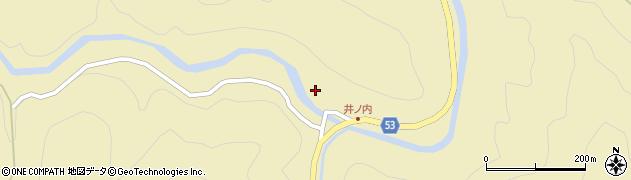 大分県佐伯市本匠大字上津川512周辺の地図