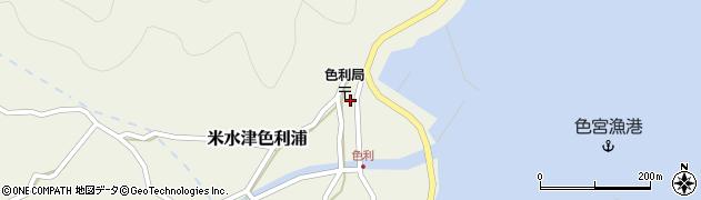大分県佐伯市米水津大字色利浦333周辺の地図