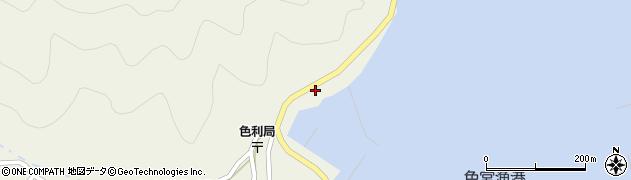 大分県佐伯市米水津大字色利浦312周辺の地図