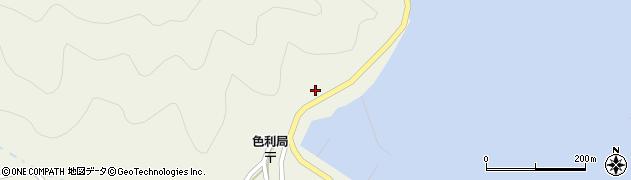 大分県佐伯市米水津大字色利浦319周辺の地図