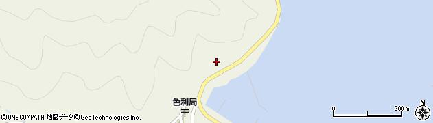 大分県佐伯市米水津大字色利浦318周辺の地図