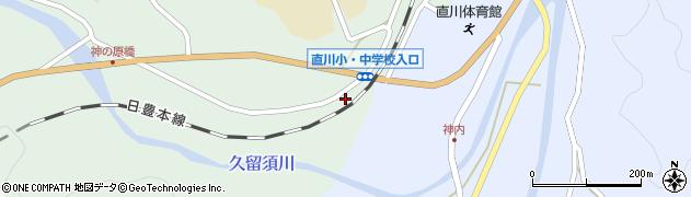 大分県佐伯市直川大字赤木138周辺の地図