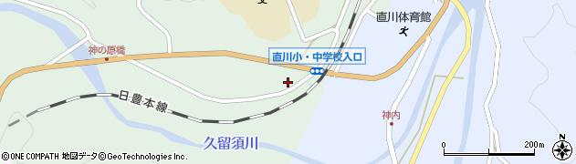 大分県佐伯市直川大字赤木139周辺の地図