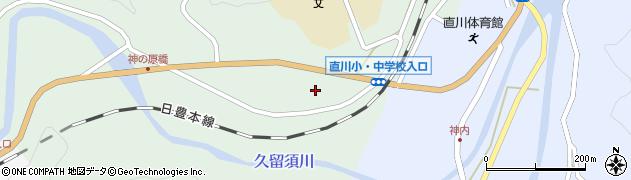 大分県佐伯市直川大字上直見426周辺の地図