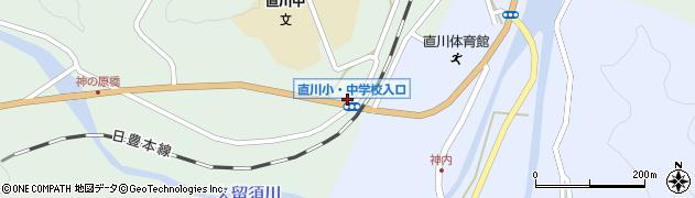 大分県佐伯市直川大字赤木125周辺の地図
