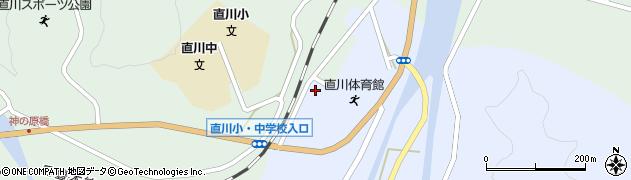 大分県佐伯市直川大字赤木106周辺の地図