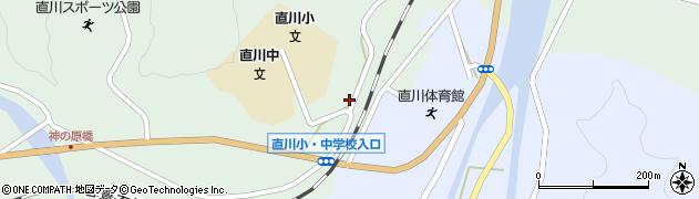 大分県佐伯市直川大字上直見551周辺の地図