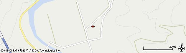 大分県佐伯市青山7536周辺の地図