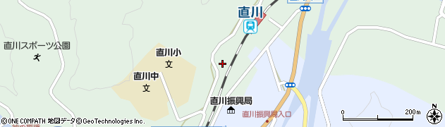 大分県佐伯市直川大字上直見591周辺の地図
