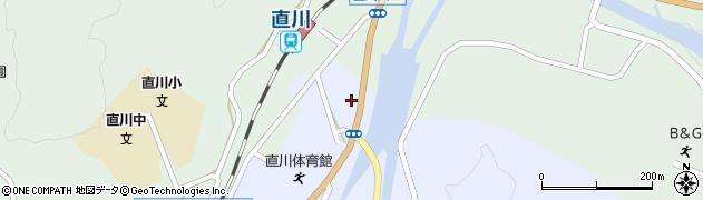 大分県佐伯市直川大字赤木4周辺の地図