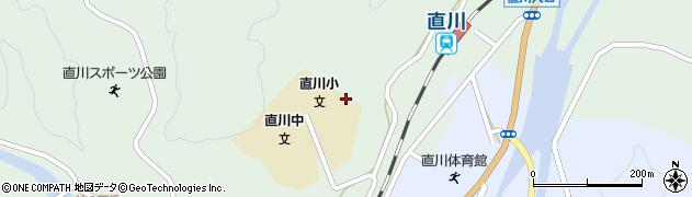 大分県佐伯市直川大字上直見573周辺の地図