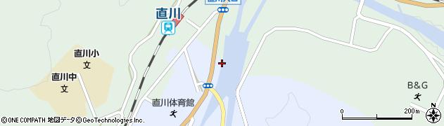 大分県佐伯市直川大字赤木2周辺の地図