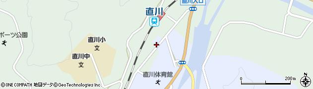 大分県佐伯市直川大字赤木33周辺の地図