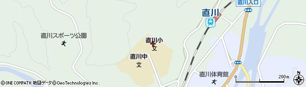 大分県佐伯市直川大字上直見500周辺の地図