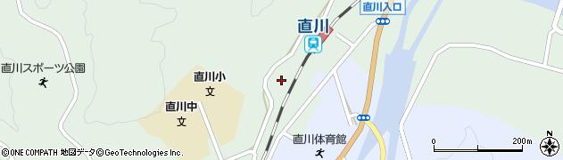 大分県佐伯市直川大字上直見585周辺の地図