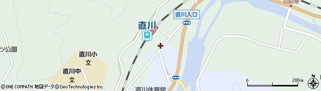 大分県佐伯市直川大字上直見25周辺の地図
