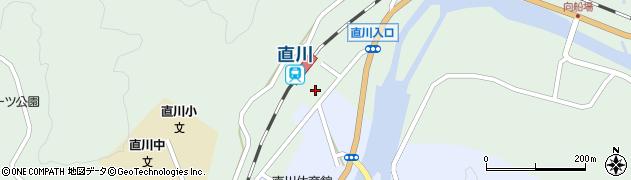 大分県佐伯市直川大字上直見627周辺の地図