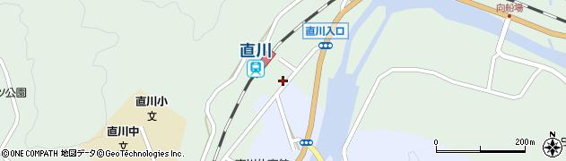 大分県佐伯市直川大字上直見629-2周辺の地図
