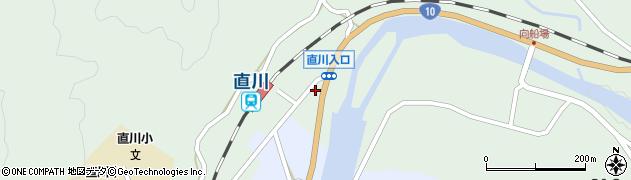大分県佐伯市直川大字上直見706周辺の地図