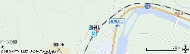 大分県佐伯市直川大字上直見651周辺の地図
