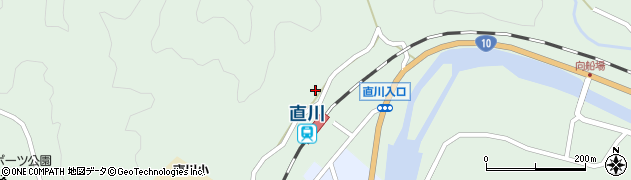 大分県佐伯市直川大字上直見681周辺の地図