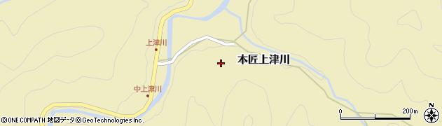 大分県佐伯市本匠大字上津川中上津川周辺の地図