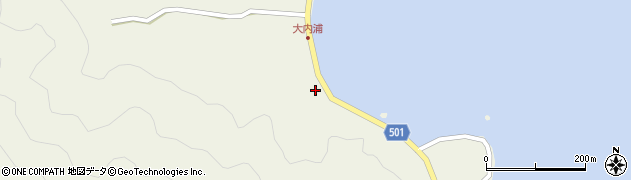 大分県佐伯市米水津大字色利浦291周辺の地図