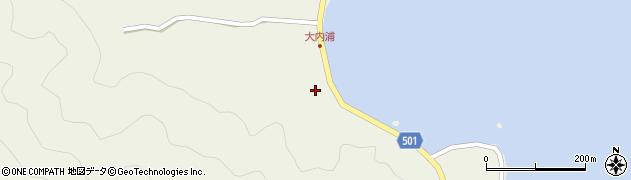 大分県佐伯市米水津大字色利浦271周辺の地図