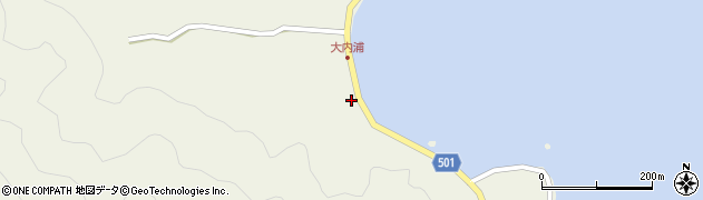 大分県佐伯市米水津大字色利浦275周辺の地図