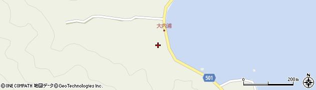 大分県佐伯市米水津大字色利浦246周辺の地図