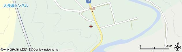 大分県佐伯市堅田535周辺の地図