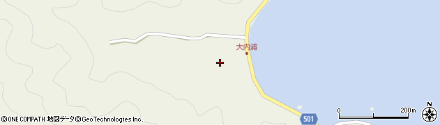 大分県佐伯市米水津大字色利浦328周辺の地図